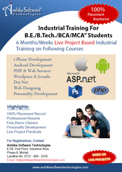6 weeks industrial training